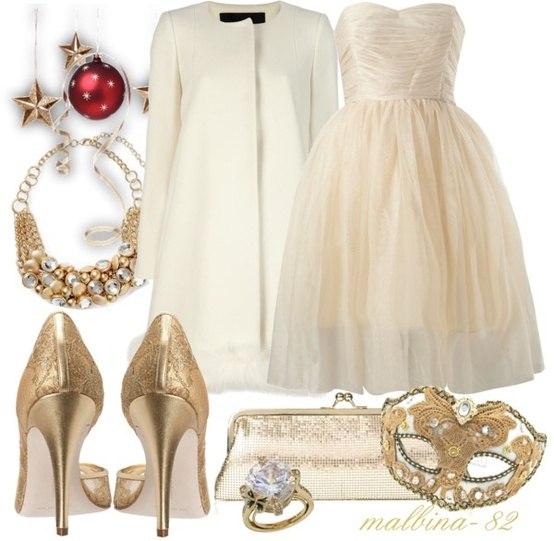 Красивый лук платья